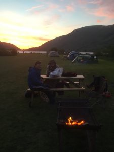 Cwellyn Arms campsite